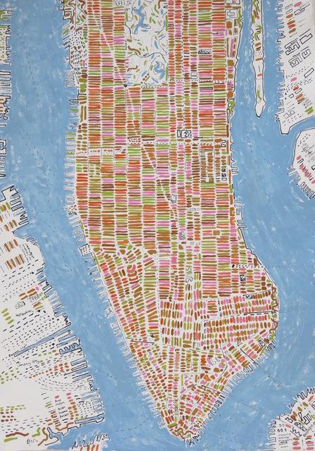 , 'Spring Manhattan,' 2017, Rebecca Hossack Art Gallery
