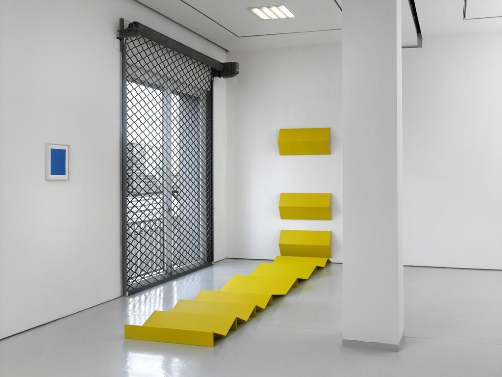 "Installation view, ""Broken Spaces,"" KAI 10 | Arthena Foundation 2015 Charlotte Posenenske, Christiane Feser. Foto: Achim Kukulies, Düsseldorf"