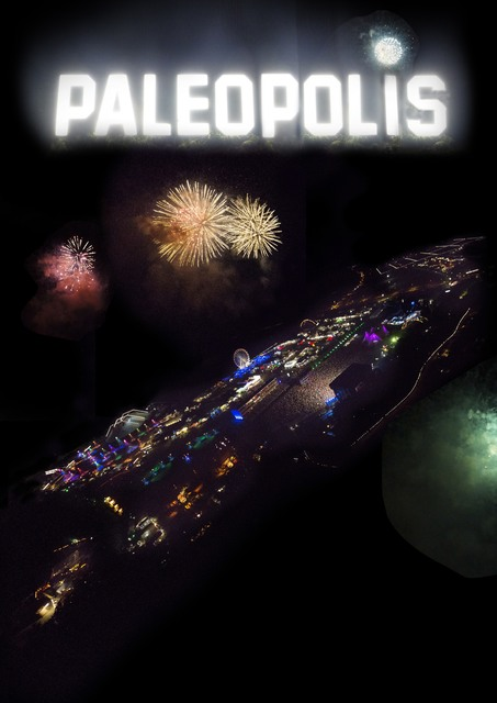 ", 'Poster from the movie ""Paléopolis"",' , Musée de l'Elysée"