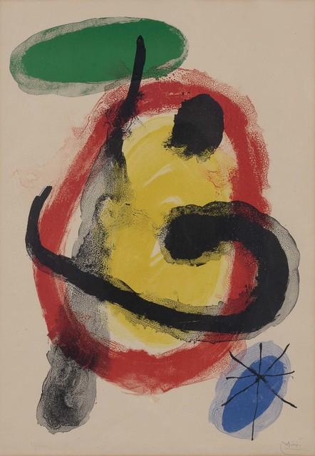 Joan Miró, 'EXPOSITION PEINTURES MURALES (M. 227)', 1961, Doyle