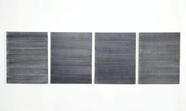 Marthe Wéry, 'Serie lignée', 1974, Barbara Gross