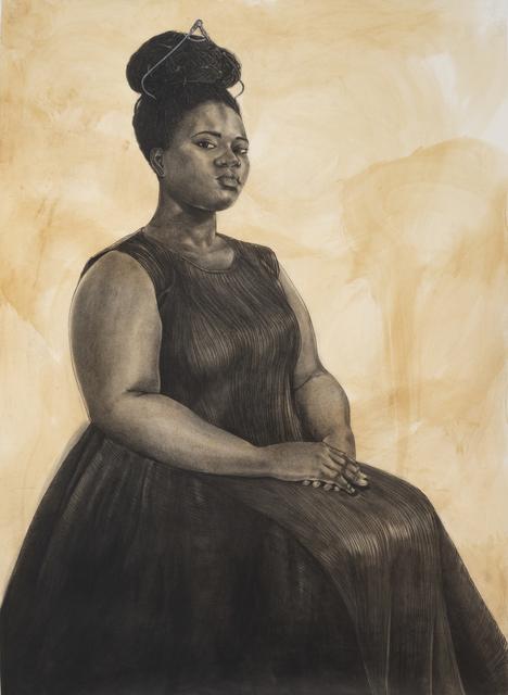 Robert Pruitt, 'Woman with Tiara', 2019, Koplin Del Rio