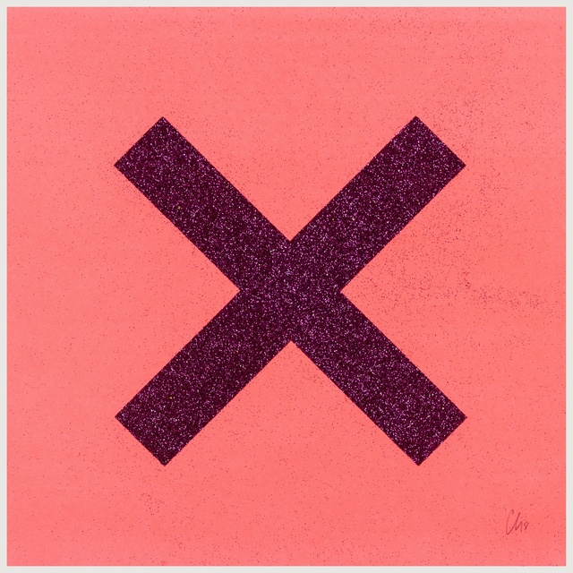 Chris Levine, 'X marks the spot', 2018, Print, The complete set of eight screenprints in colours with glitter, Forum Auctions