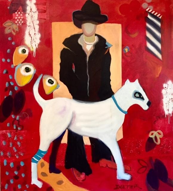 , 'The Dog Walker,' 2014-2016, Adelman Fine Art