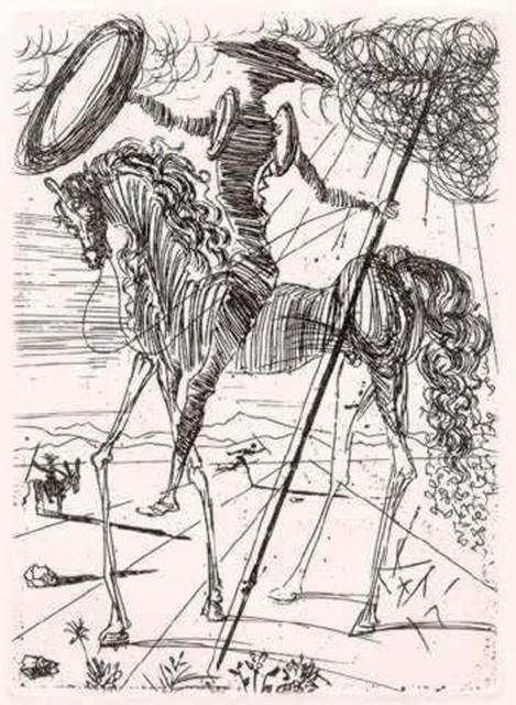 Salvador Dalí, 'Don Quixote de la Mancha', 1957, Paper in cardboard box, Zucker Art Books