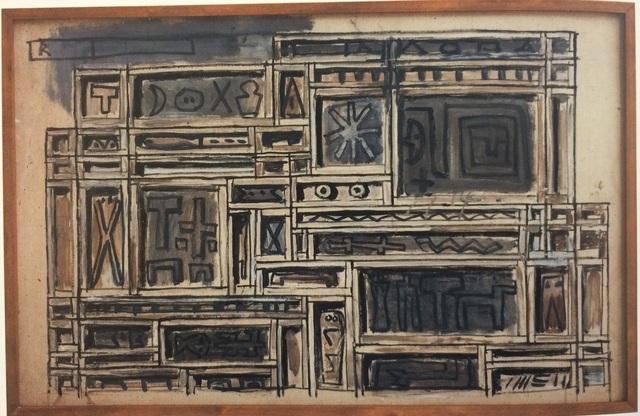 , 'Project for constructive mural / Proyecto para mural constructivo,' 1976, Galería de las Misiones