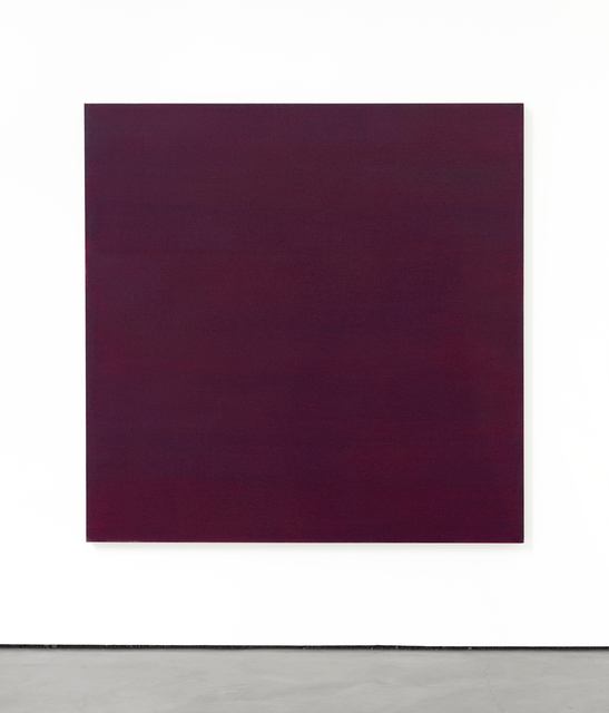 Phil Sims, 'Red/Violet Sea Painting', 2017, Brian Gross Fine Art