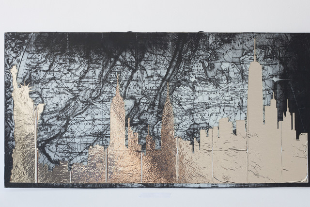 , 'Mirror cities,' 2016, RoFa Projects