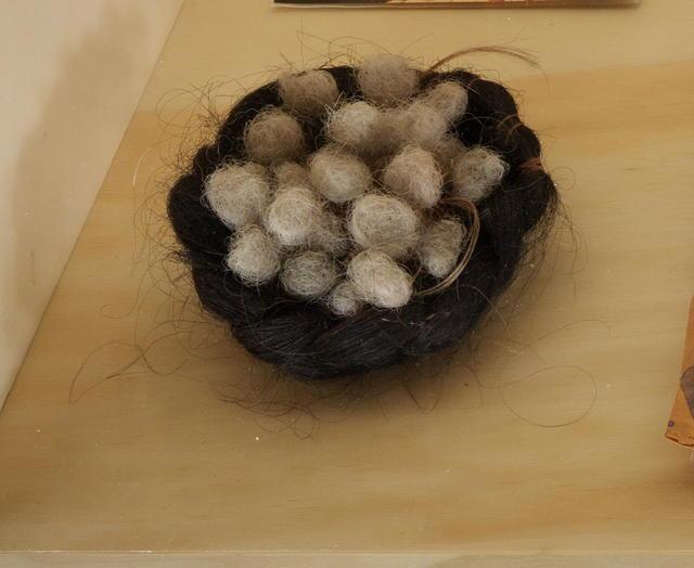 , 'Hair Nest,' 1990-1999, MARTOS GALLERY