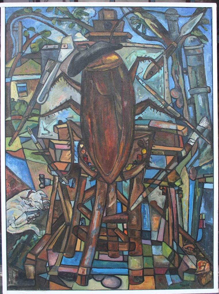'The Great Artist' by Larry Daniel Nevil