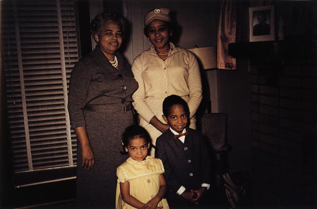 , 'Americans in Kodachrome 1945-65, Easter Sunday, Louisville, Kentucky.  Photographer: Charlotte Jackson Alexander,' 1962, ROSEGALLERY