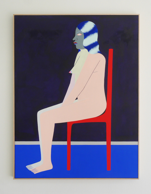 , 'Seated Figure (Red Chair),' 2017, V1 Gallery