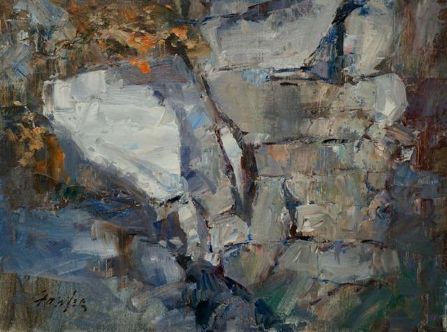 , 'Cliffside,' 2017, Wally Workman Gallery