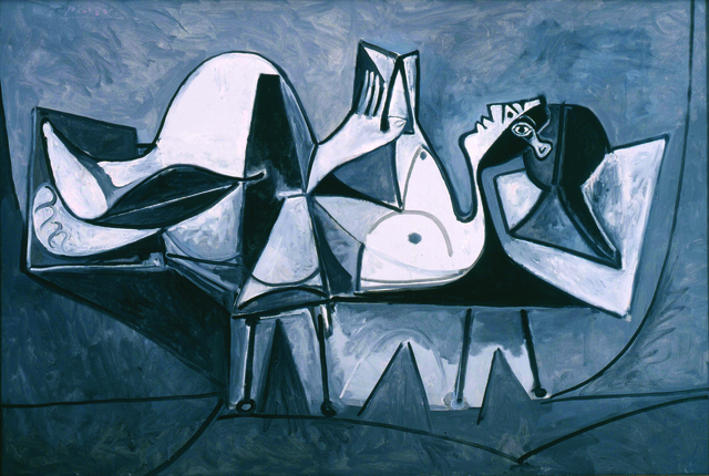 Pablo Picasso, 'Femme Couchée Lisant (Reclining Woman Reading)', 1960, Modern Art Museum of Fort Worth