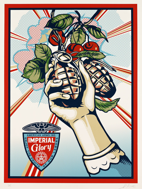 Shepard Fairey, 'Imperial Glory', 2012, Pace Prints