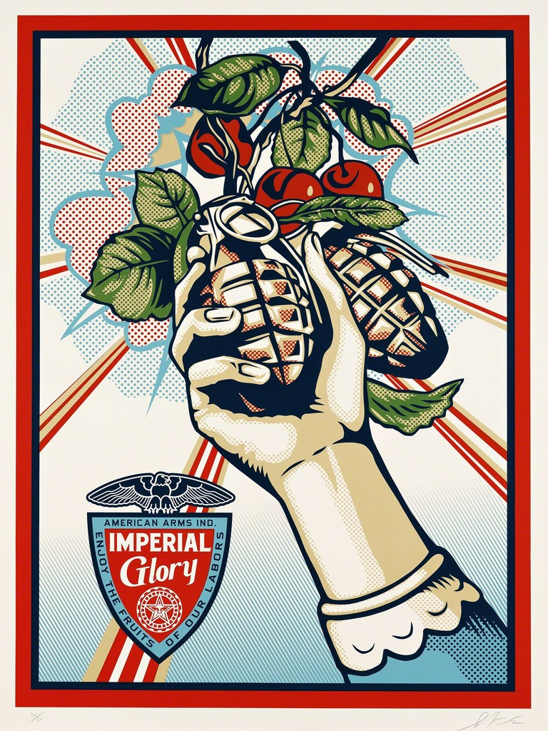 Shepard Fairey, 'Imperial Glory,' 2012, Pace Prints