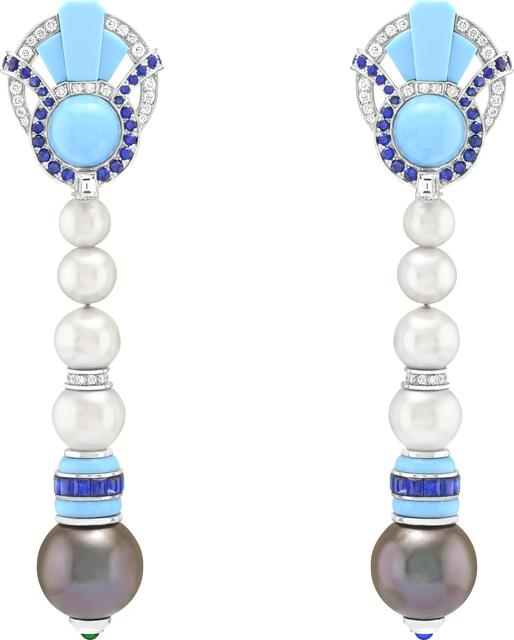 , 'Poema earrings. Unique piece, High Jewelry Collection,' 2020, Van Cleef & Arpels