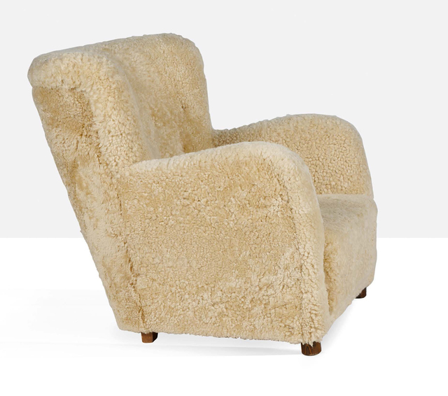 Attributed to Flemming Lassen, 'Large armchair', Circa 1941, Aguttes