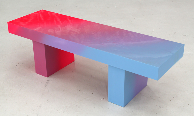 , 'Pink to Blue Bench 2,' 2014, Hosfelt Gallery