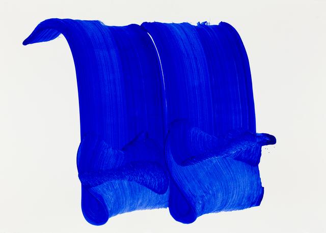 , 'Blue wave 2,' 2018, L'Atelier 21