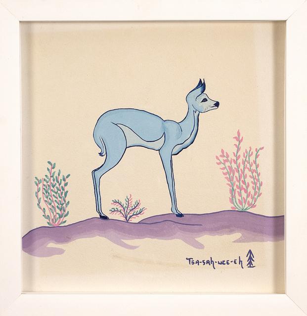 , 'Deer Scene,' , Blue Rain Gallery