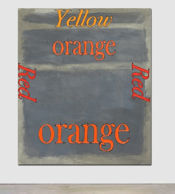 , 'Orange, Red, Yellow,' 2015, Serving The People