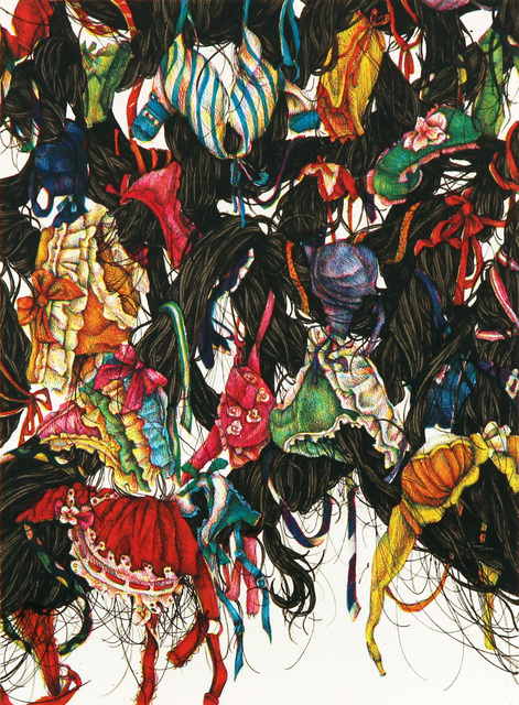 , 'Girls are Complicated 2,' 2016, Micheko Galerie