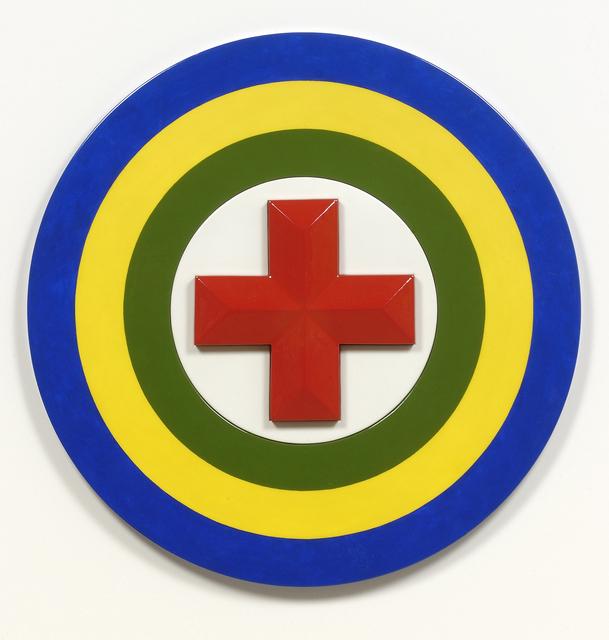 , 'Red Cross Purpose,' 2008, Turner Carroll Gallery