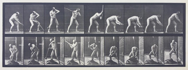 , 'Plate 396. Pounding with a mallet.,' 1887, Laurence Miller Gallery