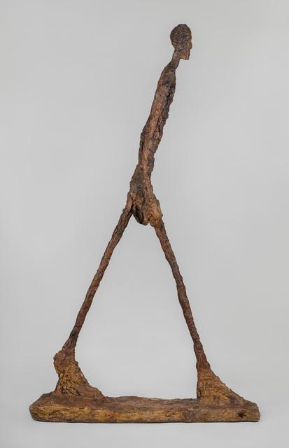 Alberto Giacometti | Homme qui marche II (Walking Man II ...