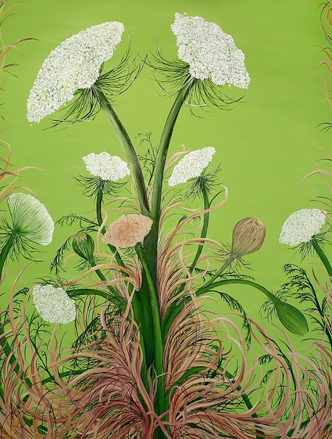, 'Queen Anne's Lace,' 2011, Susan Eley Fine Art