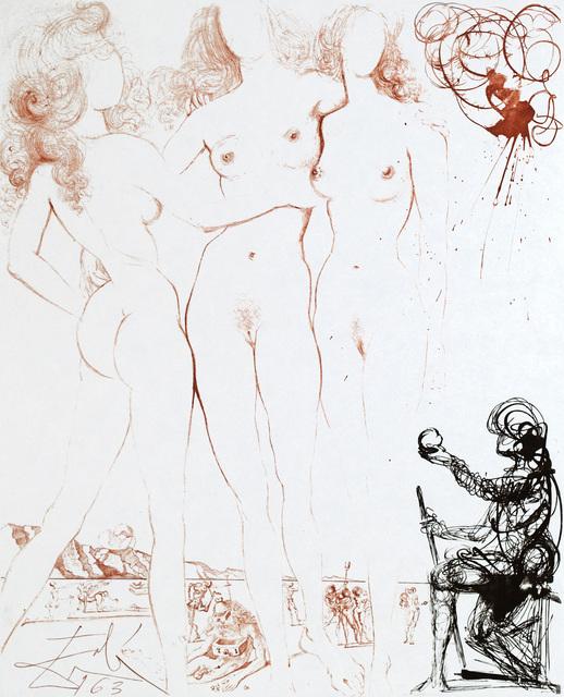 , 'Mythology Judgement of Paris,' 1963-1965, ACA Galleries