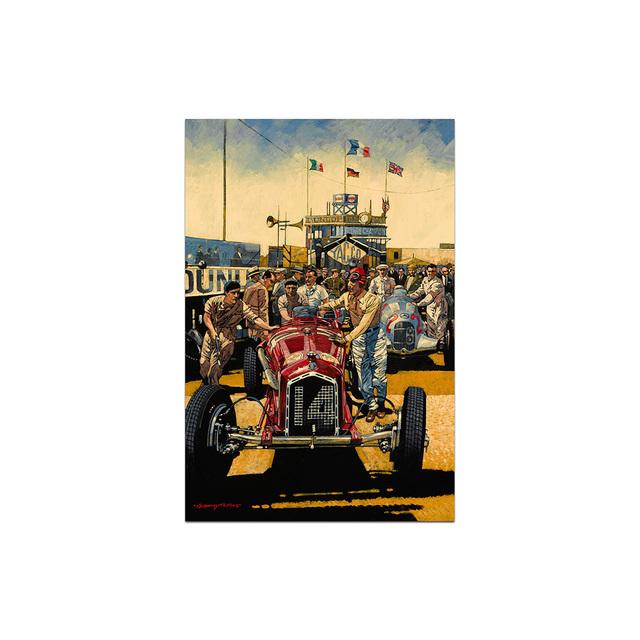 , 'French Grand Prix 1935 | Automotive | Car,' 2010, Whyte Fine Art