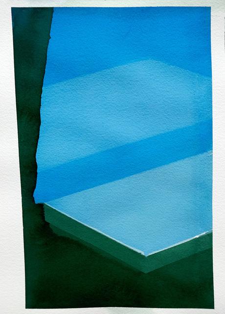 , 'Pool II,' 2017, Galerie Laurence Bernard