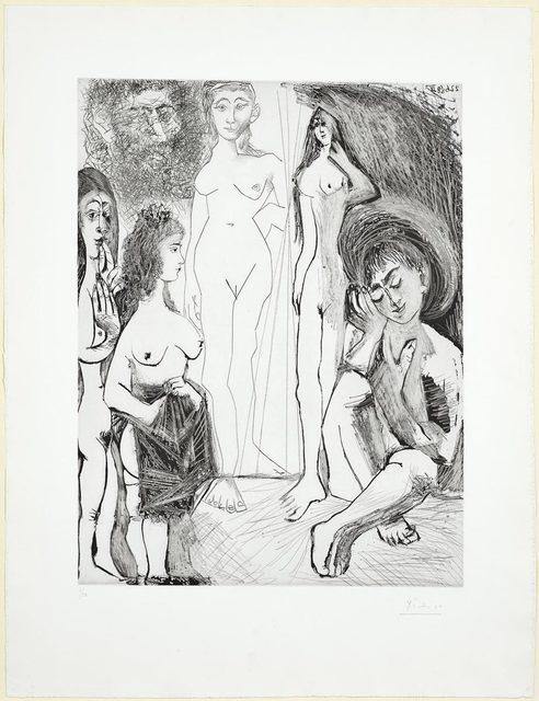 Pablo Picasso, 'Jeune garçon rêvant: Les femmes!', 1968, Koller Auctions