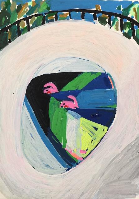 , 'Poolside #3,' 2017, HATHAWAY | Contemporary Gallery