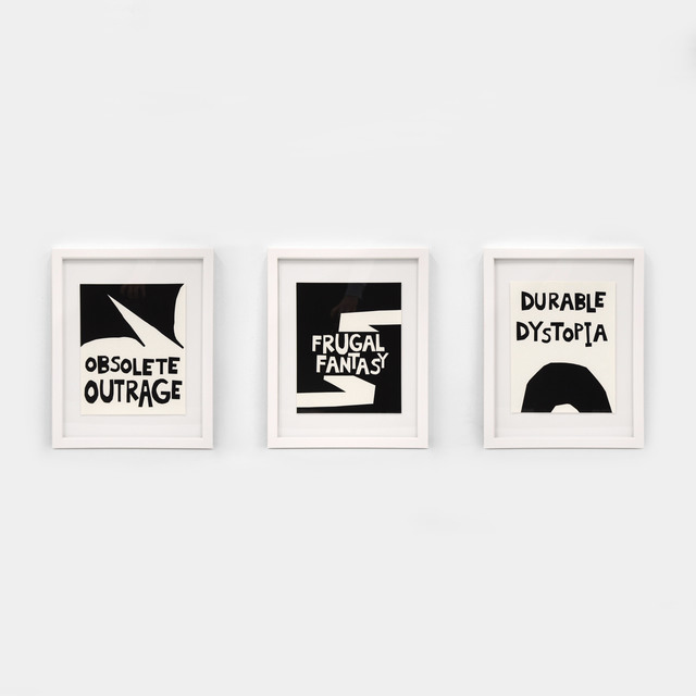 Kameelah Janan Rasheed, 'Durable Dystopia | Frugal Fantasy | Obsolete Outrage', 2018, Print, Archival inkjet print on cotton rag paper, Contemporary Art Gallery