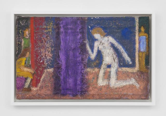 , 'Four Women (Purple Curtain),' 2018, Betty Cuningham