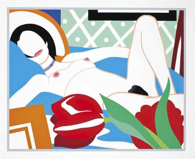 Tom Wesselmann, 'Monica with Tulips', 1989, Hamilton-Selway Fine Art