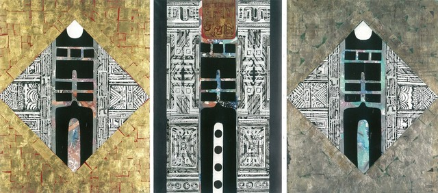 Liao Shiou-Ping, 'Gate of Wisdom (Triptych)', 1967, Longmen Art Projects