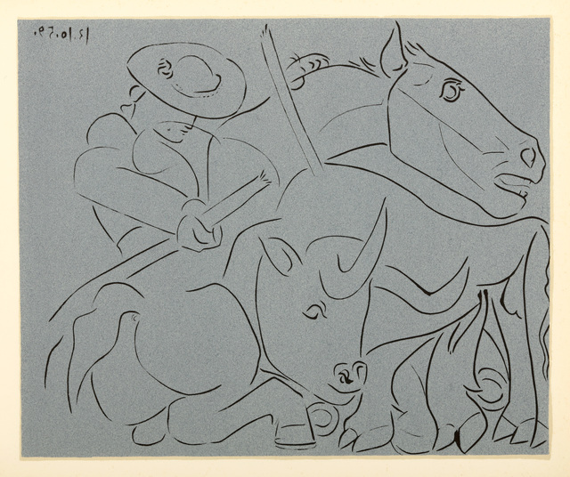 Pablo Picasso, 'The Broken Lance', 1959, Chiswick Auctions