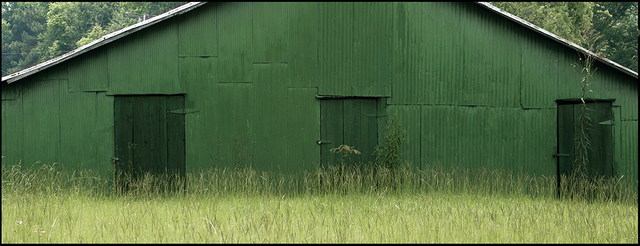 , 'Green Warehouse, Hale County ,' 2008, Spalding Nix Fine Art