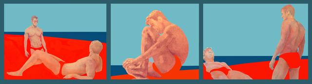 Charles Pachter, 'Sandbar Trilogy', 1995, Oeno Gallery