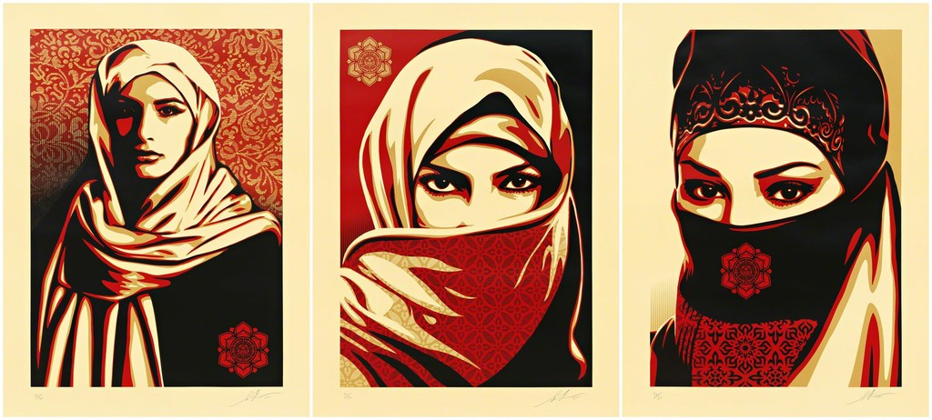 Shepard Fairey   Universal Personhood 1, 2, and 3 (2015)   Available ...