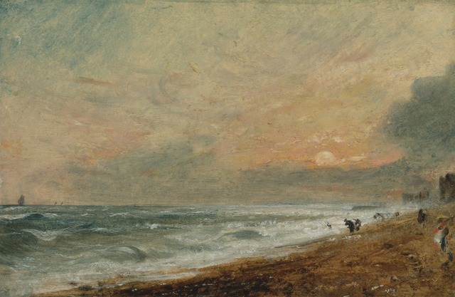 John Constable, 'Hove Beach', 1824 to 1828, Yale Center for British Art