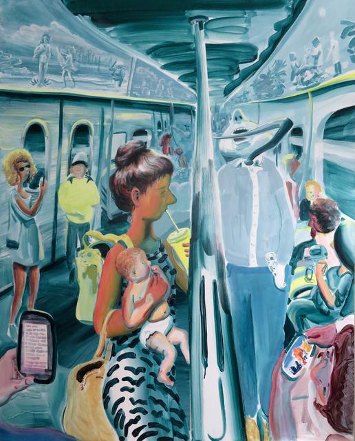 Hilary Doyle, 'Purgatory', 2020, Painting, Acrylic on canvas, Taymour Grahne Projects