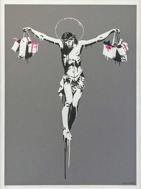 Banksy, 'Christ With Shopping Bags', 2004, Marcel Katz Art