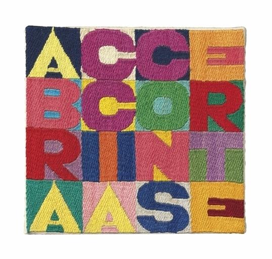 Alighiero Boetti, 'A braccia conserte', Christie's