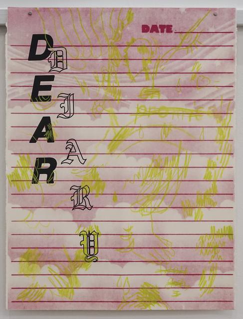 , 'Dear Diary,' 2016, The Southern