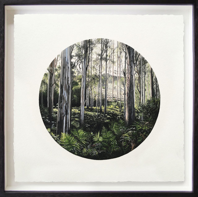 , 'Afternoon View Through The Forest,' 2018, Flinders Lane Gallery